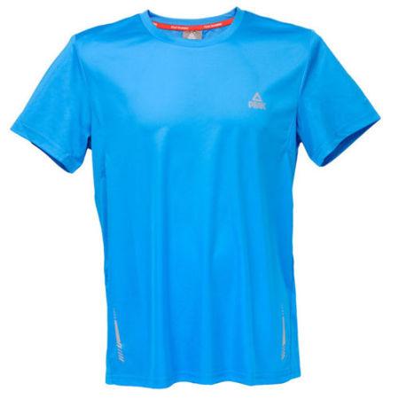 PEAK Pánské běžecké triko - blue