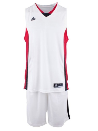 PEAK Basketball Set basketbalová souprava - white/red