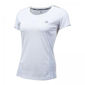 PEAK RUN W dámské běžecké triko - white