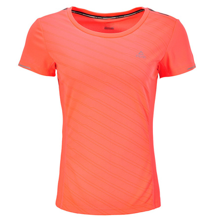 PEAK RUN W dámské běžecké triko - red