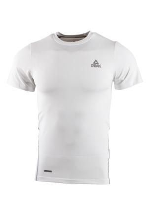 PEAK kompresní triko - white