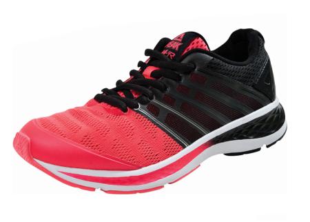 PEAK Běžecká obuv - fluorescent red/black