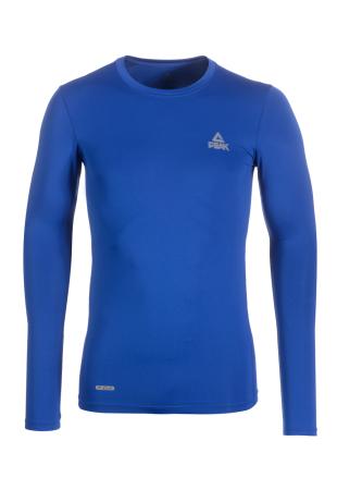 PEAK kompresní triko dlouhý rukáv - blue