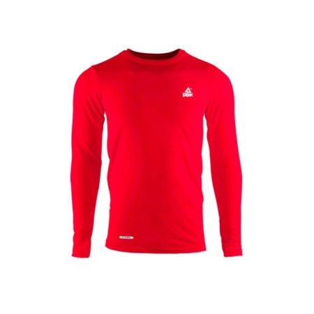 PEAK kompresní triko dlouhý rukáv - red