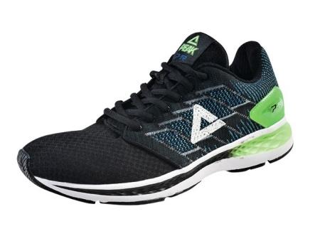PEAK běžecká obuv - black/fluorescent green