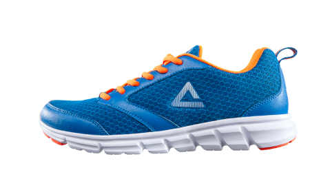 PEAK FITSKIN - sport Blue/Fluorescent Orange