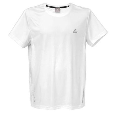 PEAK Pánské běžecké triko - white