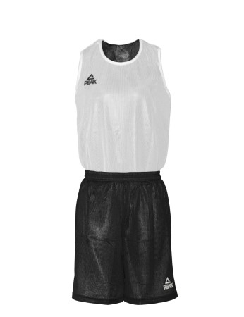 PEAK Reversible Uniform basketbalový oboustranný set - black/white