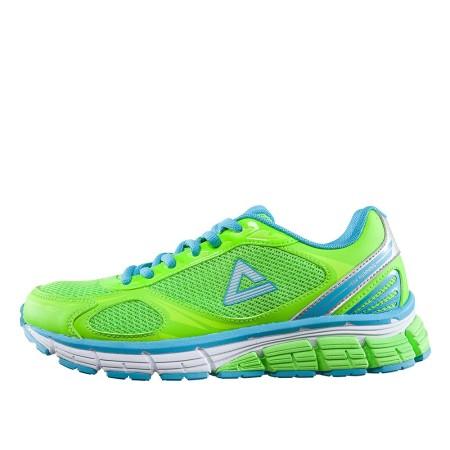 PEAK Běžecká obuv - fluorescent Green/Aquarius Blue