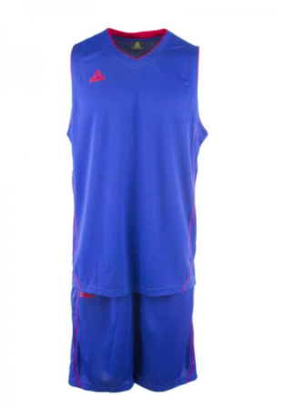 PEAK Basketball Uniform basketbalová souprava - blue/red