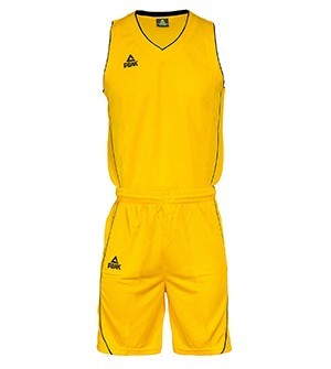 PEAK Basketball Uniform basketbalová souprava - yellow/black