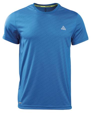 PEAK Training Mens basic tee short sleeve - blue