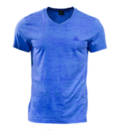 PEAK Classic V pánské triko - youth blue