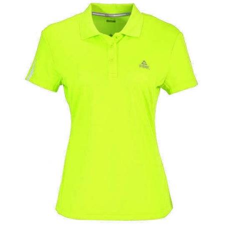 PEAK Cross Training dámské funkční polo triko - fluorescent yellow
