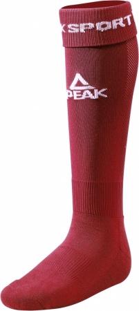 PEAK Fotbalové ponožky - burgundy