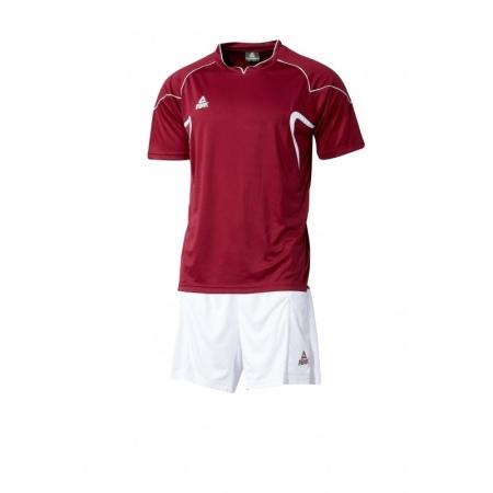 PEAK fotbalová souprava - burgundy/white