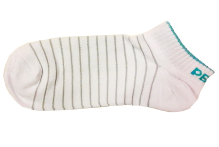 PEAK kotníkové ponožky - white/ice blue